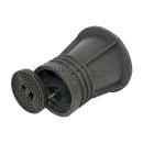 Ковер газовый полимерпесчаный черный