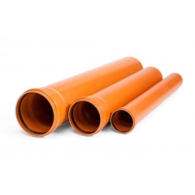 Труби ПВХ каналізаційні тип важкий (SN 8)